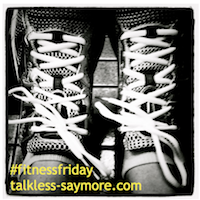 fitness friday button1 Fitness Friday   Marathon Training Check in #3