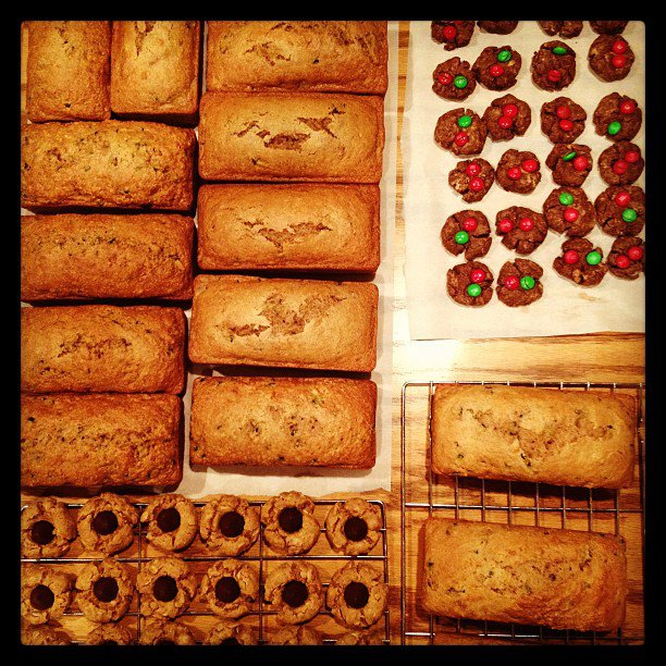 from last year's baking extravaganza!