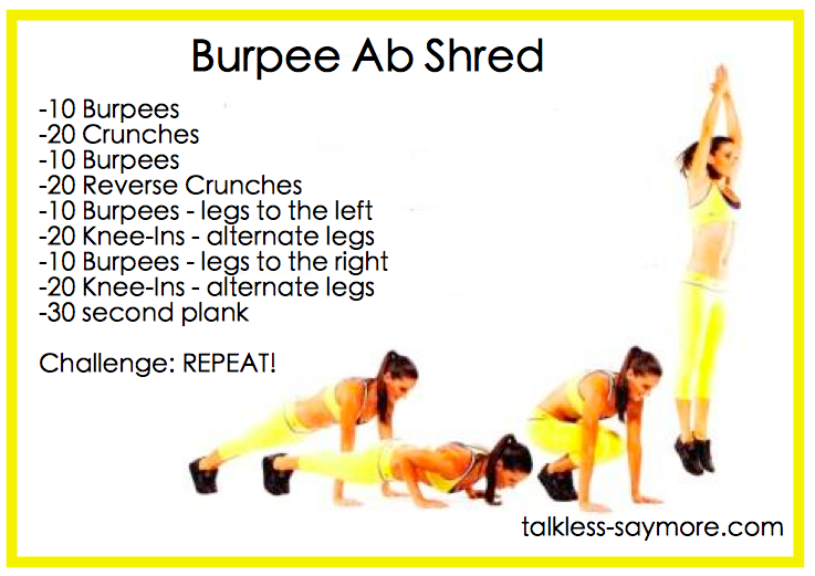 Burpee Ab Shred - Talk...