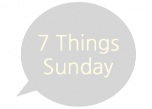 seven things sunday