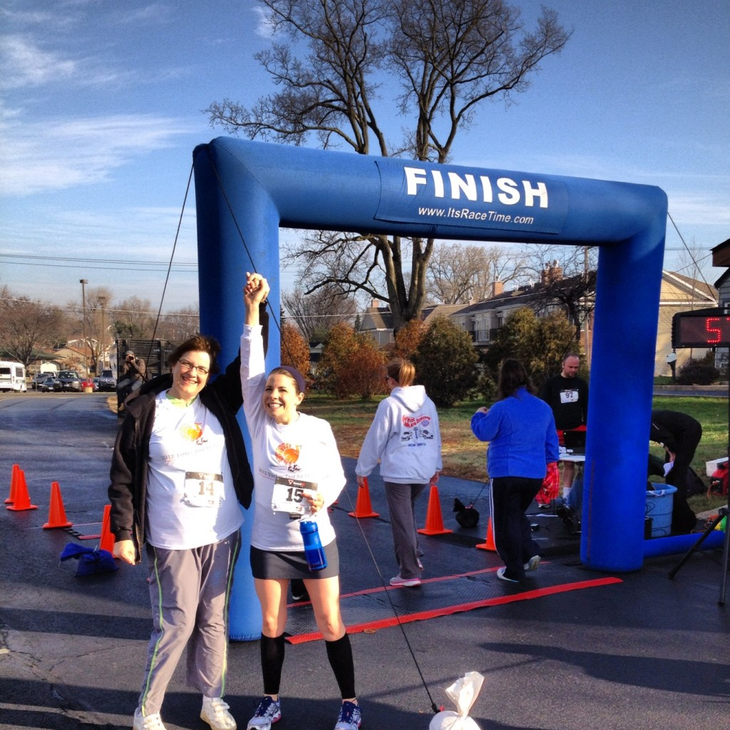 From last year's Turkey Trot 5k