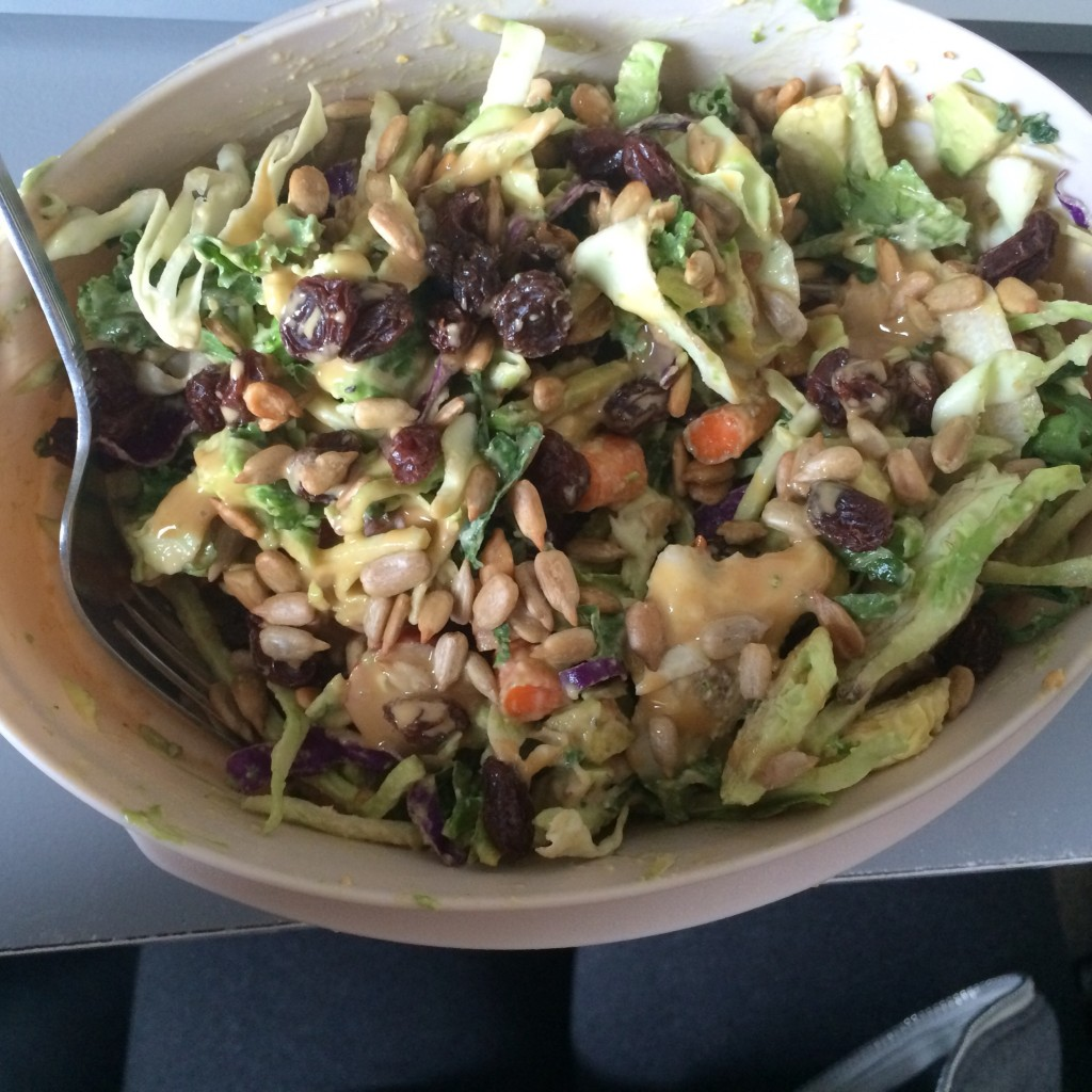Recycled picture but this is pretty much what my salad looked like.