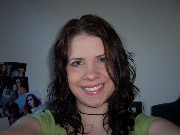 """BONUS! Probably one of the very first """"selfies"""" I ever took - me in college 10 years AGO! ;)"""