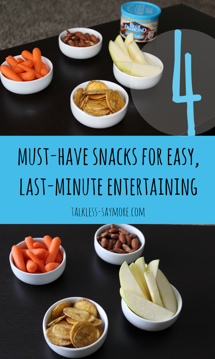 blue diamond snacks for entertaining PIN