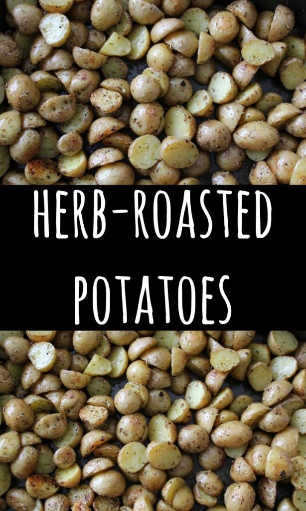 herb roasted potatoes PIN