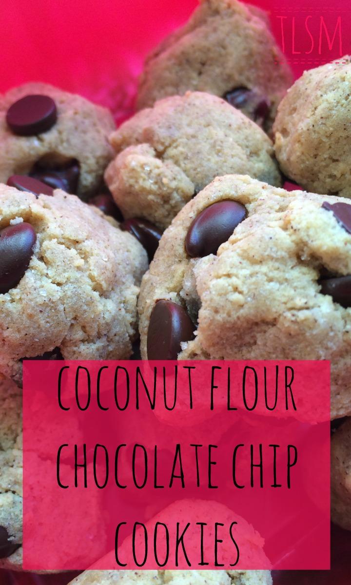 coconut flour chocolate chip breakup cookies
