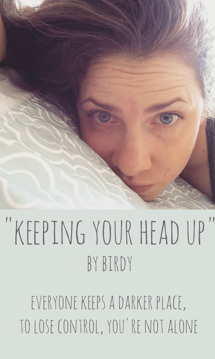 keeping your head up birdy PIN