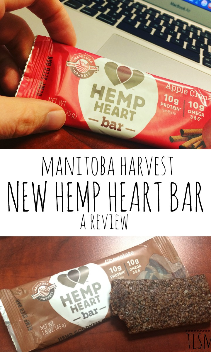 manitoba harvest hemp heart bar review