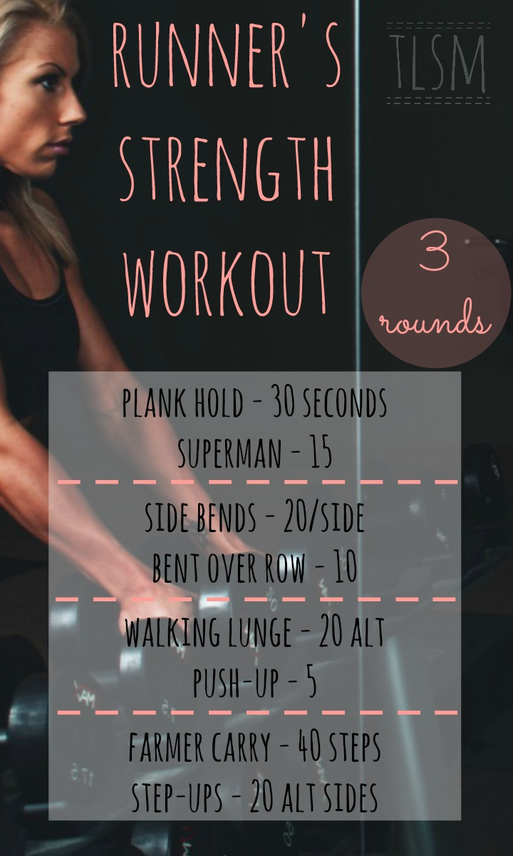 runners strength workout