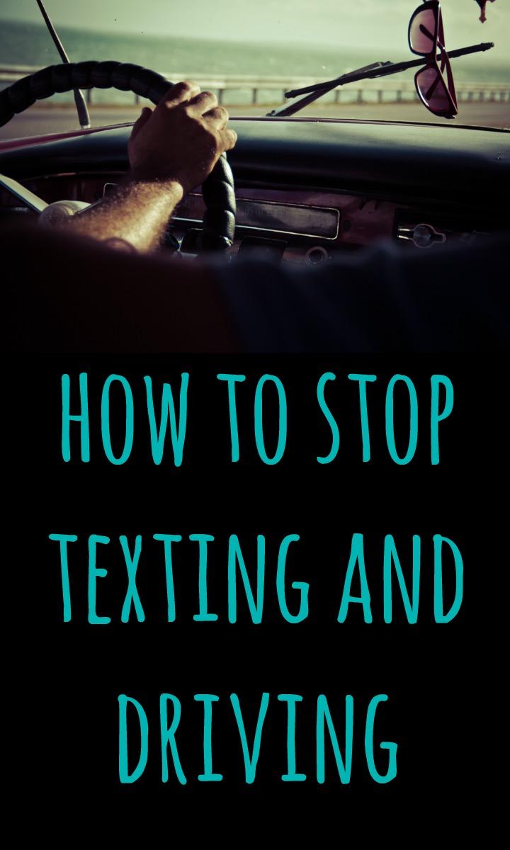no text and drive PIN
