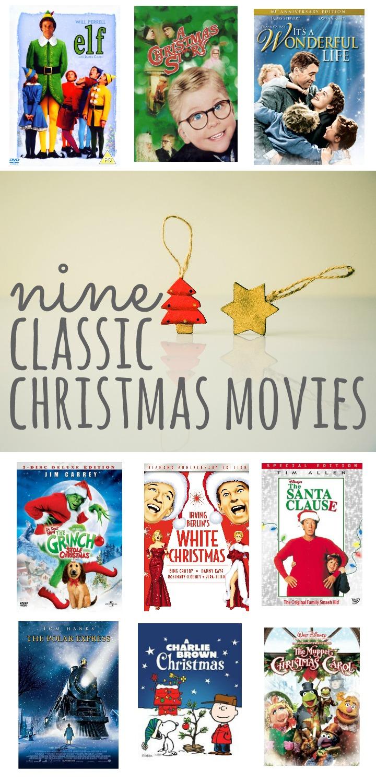 Nine Classic Christmas Movies Talk Less Say More