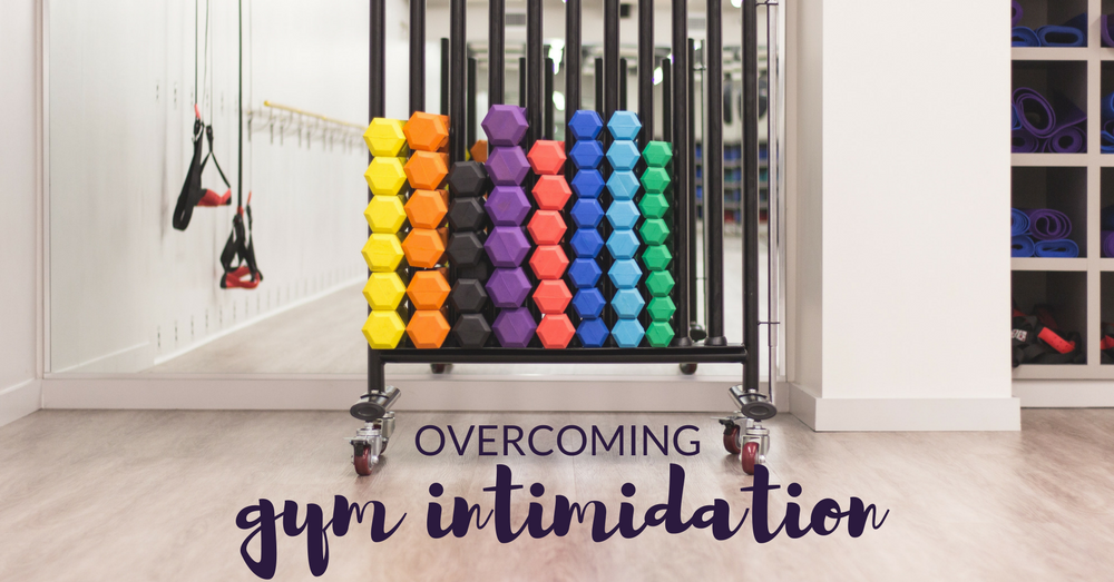 Overcome gym intimidation