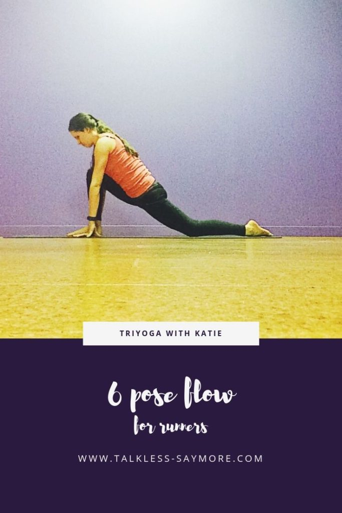 Check out this post-run yoga flow for a quick stretch after your run!