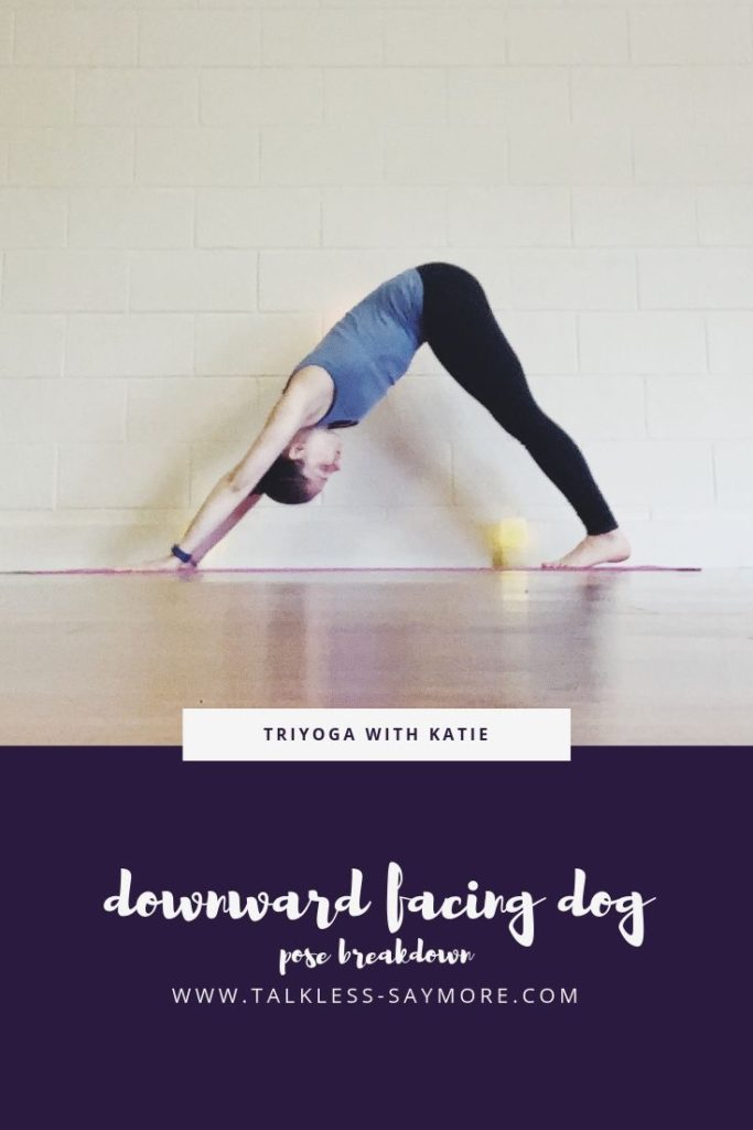 This downward facing dog pose breakdown will help give you the time to get the solid foundation of the pose that sometimes gets missed during studio classes.