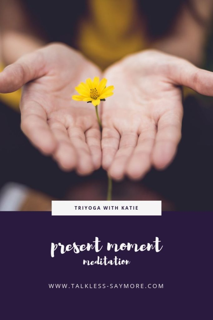 This guided Present Moment meditation focuses on each of the 5 senses one at a time.