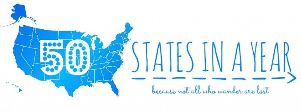 50 states in a year graphic