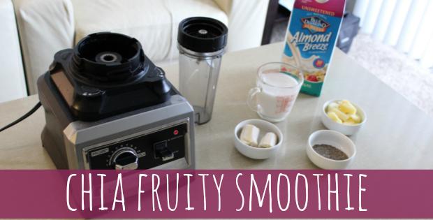 chia fruit smoothie